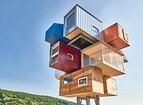 Urban Housing - Röttingen - Year 2016 – Rough Sleepers Capsule Tower